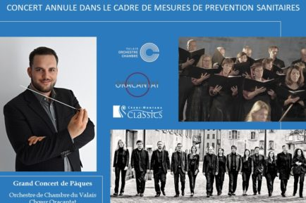 Annulation Concert de Paques 2020
