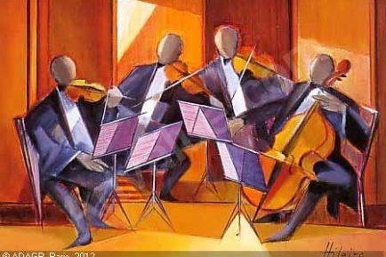 Quatuor à cordes @ Camille Hilaire