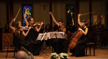 Jerusalem Quartet and participants@CMClassics_ChabLathion (27)